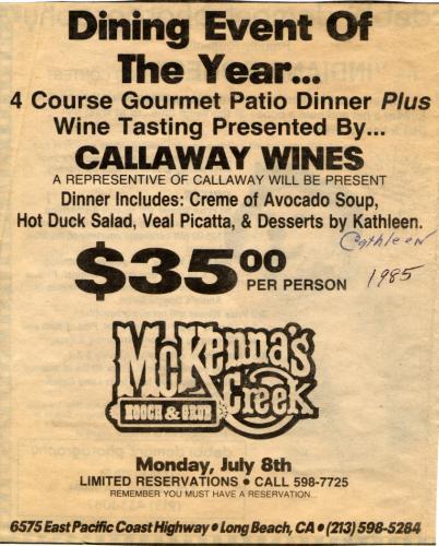 Ad 09 1985-86 Mckennas Creek