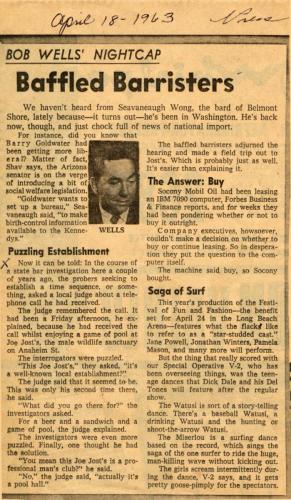 Article 03 Apr 1963