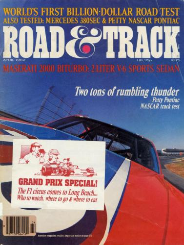 Road  Track Article 02 1982