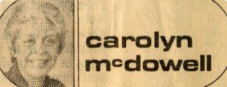 header McDowell Sept 1976